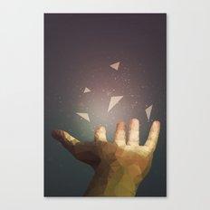 Healing Hand Canvas Print