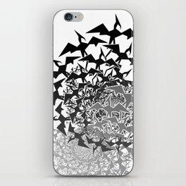 Fractyl Pterodactyl Swarms iPhone Skin