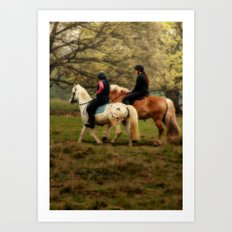 Richmond Park Art Print
