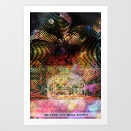 Blissful Karma Art Print