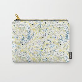 Marbled Organic Pattern Carry-All Pouch