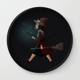 witchy regina Wall Clock