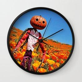 Jack Pumpkinhead Wall Clock
