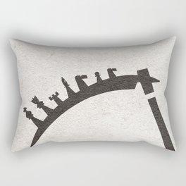 The Seventh Seal aka Det Sjunde Inseglet Rectangular Pillow