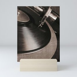 old tracks Mini Art Print
