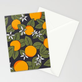 Orange ya glad Stationery Cards