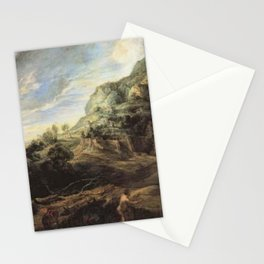 Peter Paul Rubens - Odysseus on the island of the Phaecians Stationery Cards