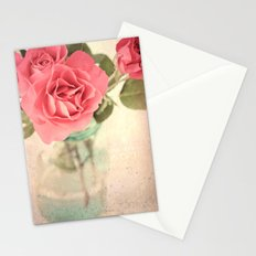 Rosy Outlook Stationery Cards