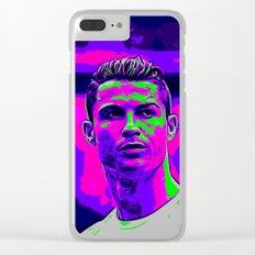 Ronaldo - Neon Clear iPhone Case