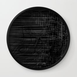 Black or White Wall Clock
