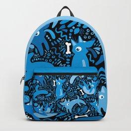 Los Perros Azules de Xolotls Backpack