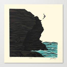 Dare Canvas Print