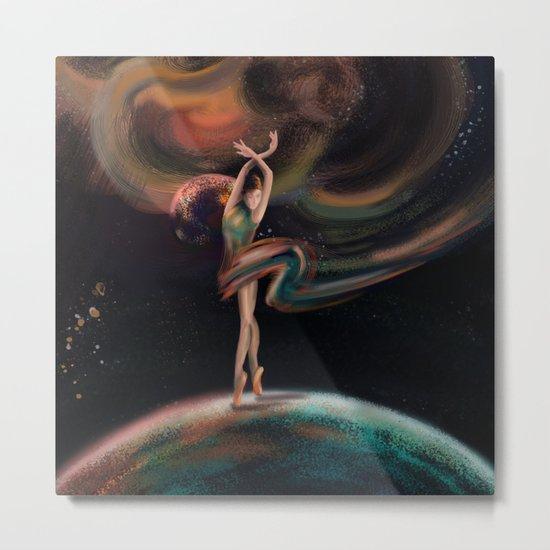The dancing universe Metal Print