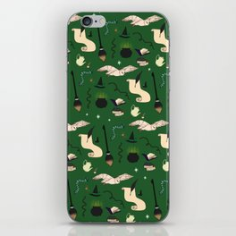 Slytherin Pattern iPhone Skin