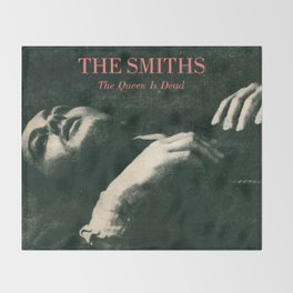 The Smiths - The Queen Is Dead Throw Blanket
