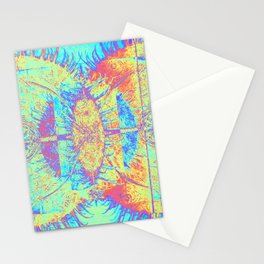 Corneal Mitosis Stationery Cards