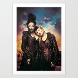 SwanQueen Love Art Print