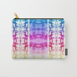 Tie Dye Rainbow Carry-All Pouch
