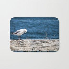 The Thinking Seagull Bath Mat