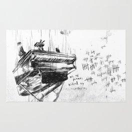 Piano Death Rug