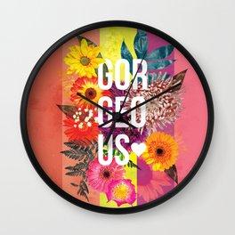 Gorgeous Heart <3 Wall Clock