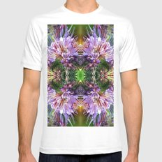 Thistles Mens Fitted Tee MEDIUM White