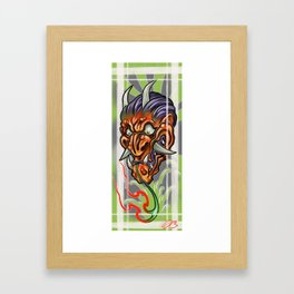 The Hannya Framed Art Print