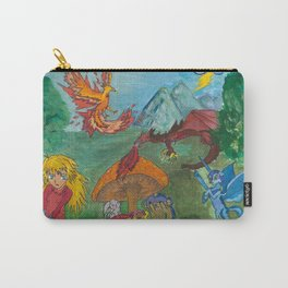 The Fantazy Forest Carry-All Pouch