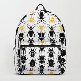 Beetles and Beetles Pattern Backpack