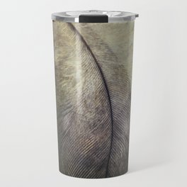 Pretty small feather Travel Mug