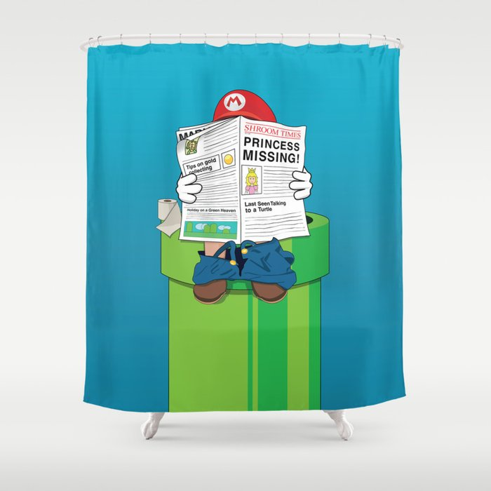 Mario Shower Curtain By Altay