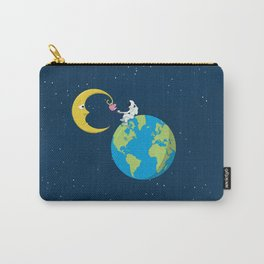 Talk to the Moon Carry-All Pouch