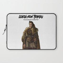 Commander Leksa kom Trikru Laptop Sleeve