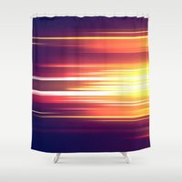 sonic Shower Curtains featuring Super Sonic by Emily Day