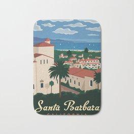 Santa Barbera Canvas Print Bath Mat