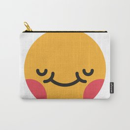 Emojis: Blush Carry-All Pouch