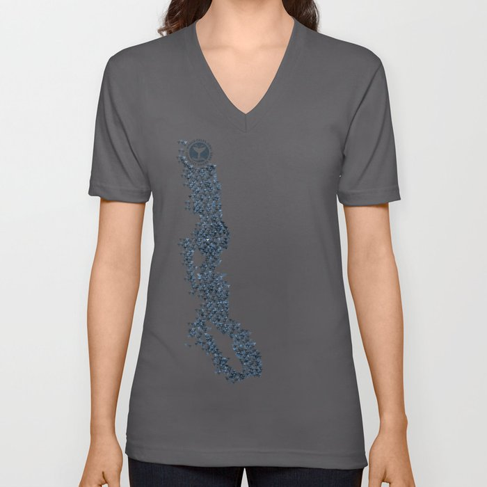 Whale Tales of BC Unisex V-Neck