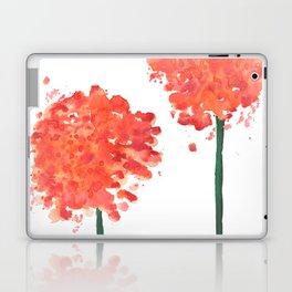 2 abstract geranium flowers Laptop & iPad Skin
