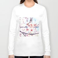 blossom Long Sleeve T-shirts featuring blossom by Julia Kovtunyak