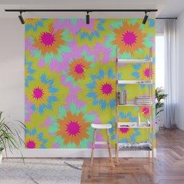 Flowerdelic Wall Mural