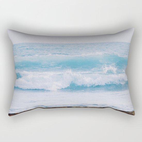 Pastel Ocean #waves Rectangular Pillow