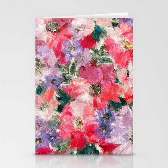 Splendid Flowers 2 Stationery Cards