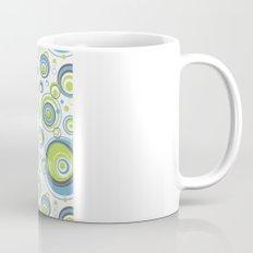 Scrambled Circles Blue/Green Mug