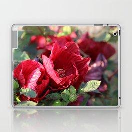 Glorious Giant Red Hibiscus Laptop & iPad Skin
