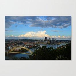 Pittsburgh - 1 Canvas Print