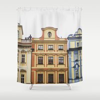 prague Shower Curtains featuring Prague   by Kameron Elisabeth