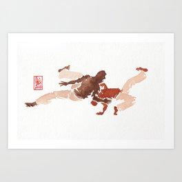 Capoeira 278 Art Print