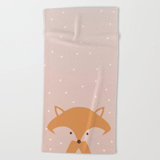 Nursery FOX Beach Towel