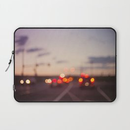 highway at dusk Laptop Sleeve