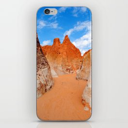 Red Sand Canyon iPhone Skin